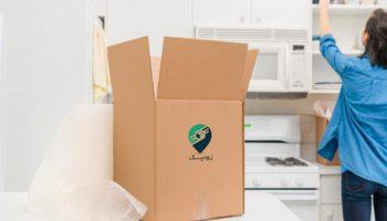 بسته بندی لوازم آشپزخانه