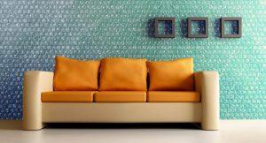کاغذ دیواری های حبابدار