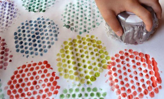 کارهای خلاقانه با نایلون حبابدار